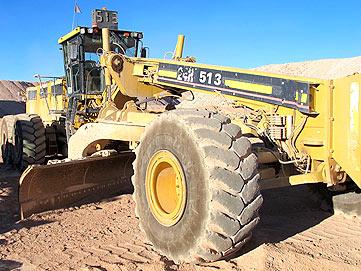Mercado minero for Cat 24h motor grader